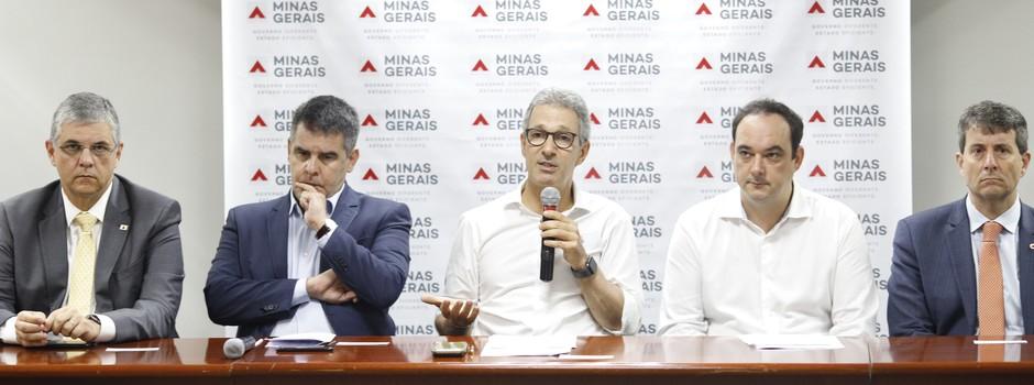 Romeu Zema anuncia medidas de apoio a cidades atingidas pela chuva