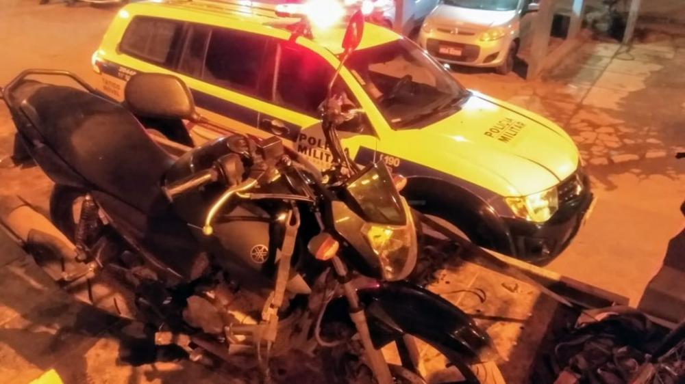 PM prende autor e recupera motocicleta roubada de motoboy em Manhuaçu