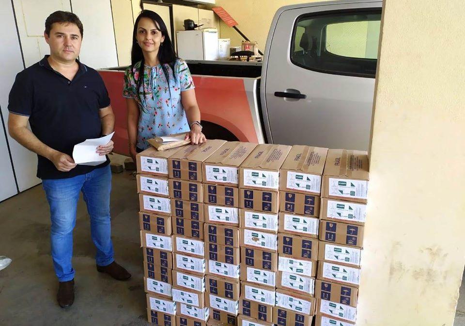 Prefeitura de Manhuaçu recebe hipoclorito e orientações após enchente