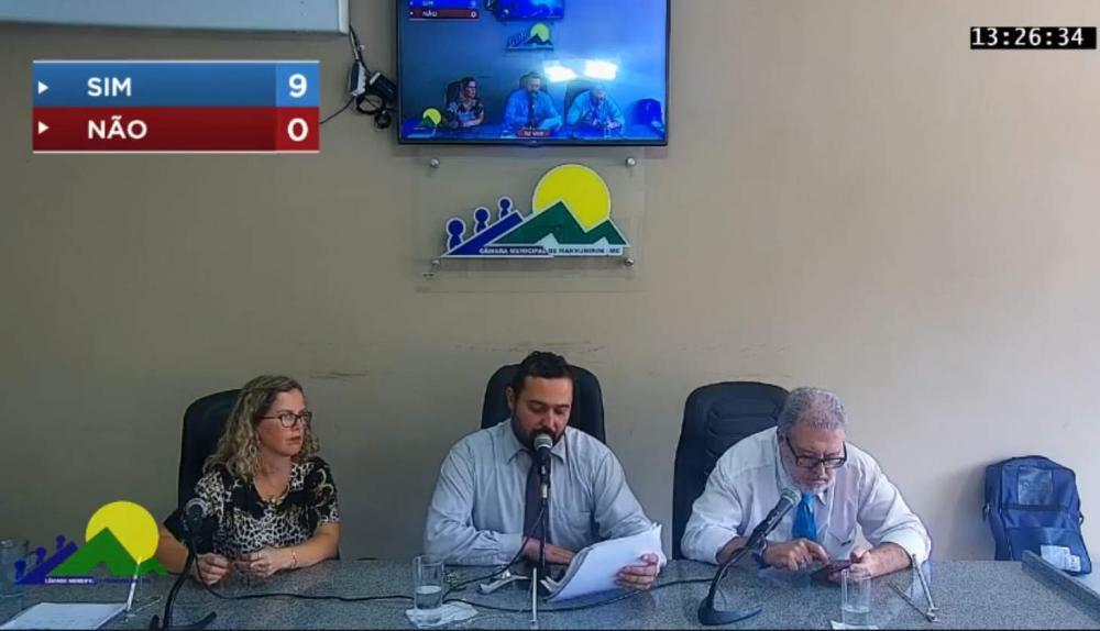 9x0: Vereadores cassam o mandato do Prefeito de Manhumirim Luciano Machado