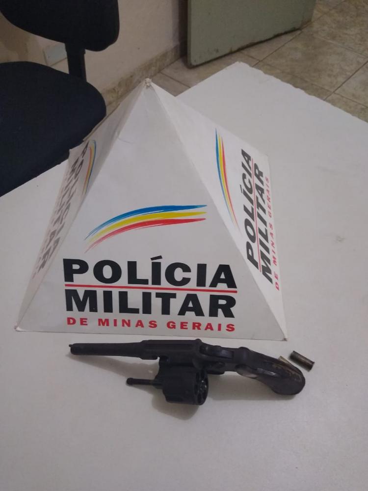 Em ação rápida PM prende autor e apreende arma de fogo utilizada em homicídio tentado em Matipó