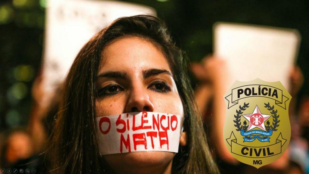 100% dos Feminicídios foram apurados pela PC de Manhuaçu entre 2018 e 2019
