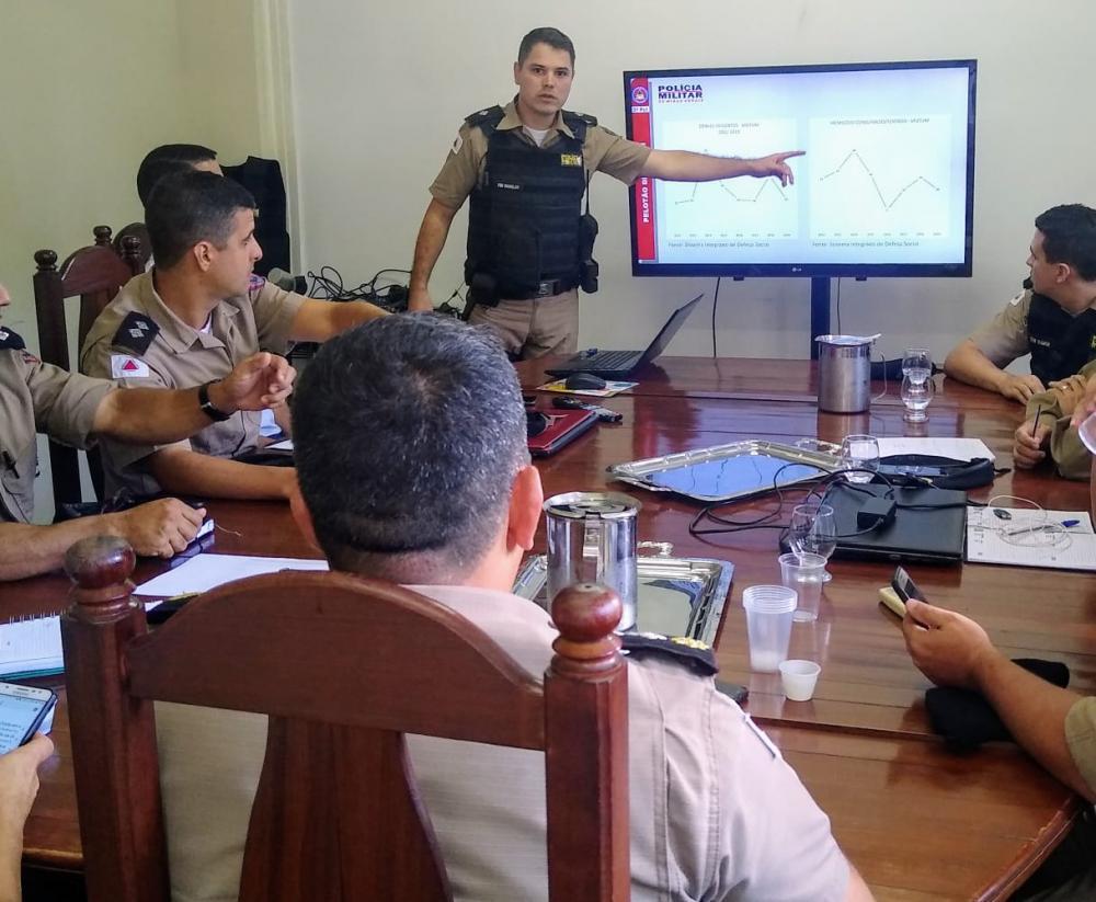 Polícia Militar traça estratégias para o enfrentamento de crimes de homicídio