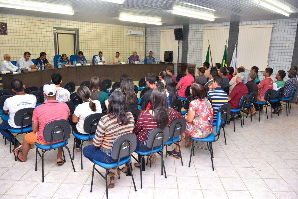 Vereadores de Luisburgo recebem reivindicação das Comunidades dos Cristino e Santa Rosa durante reunião ordinária