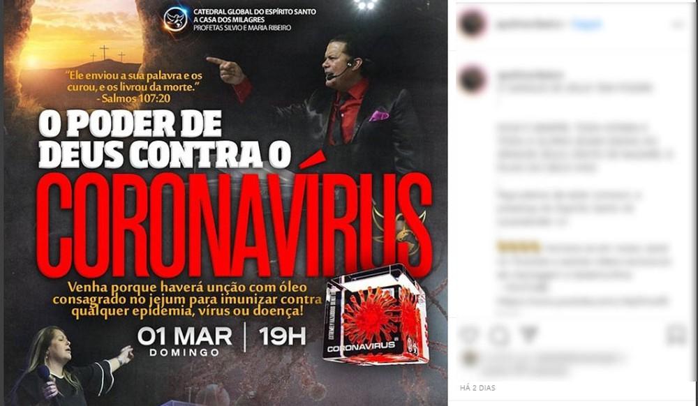 Panfleto divulgado nas redes sociais levou a abertura do inquérito em Porto Alegre — Foto: Reprodução/Redes Sociais