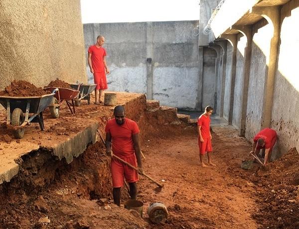 Presídio de Carangola passa por expansão e melhorias com trabalho dos presos