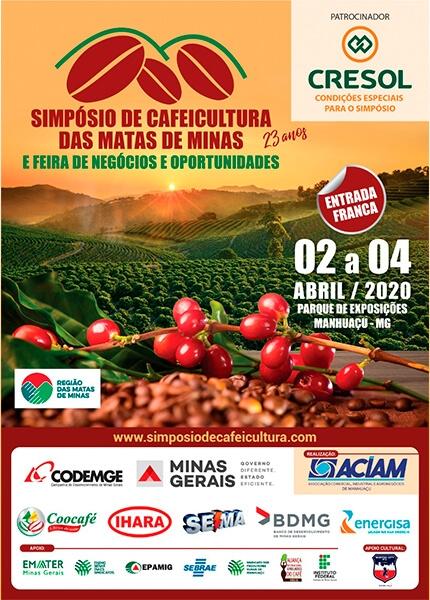 Quase tudo pronto para o 23° Simpósio de Cafeicultura das Matas de Minas