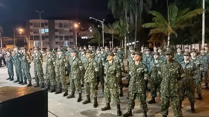 TG de Carangola incorpora 50 novos atiradores para este ano de 2020