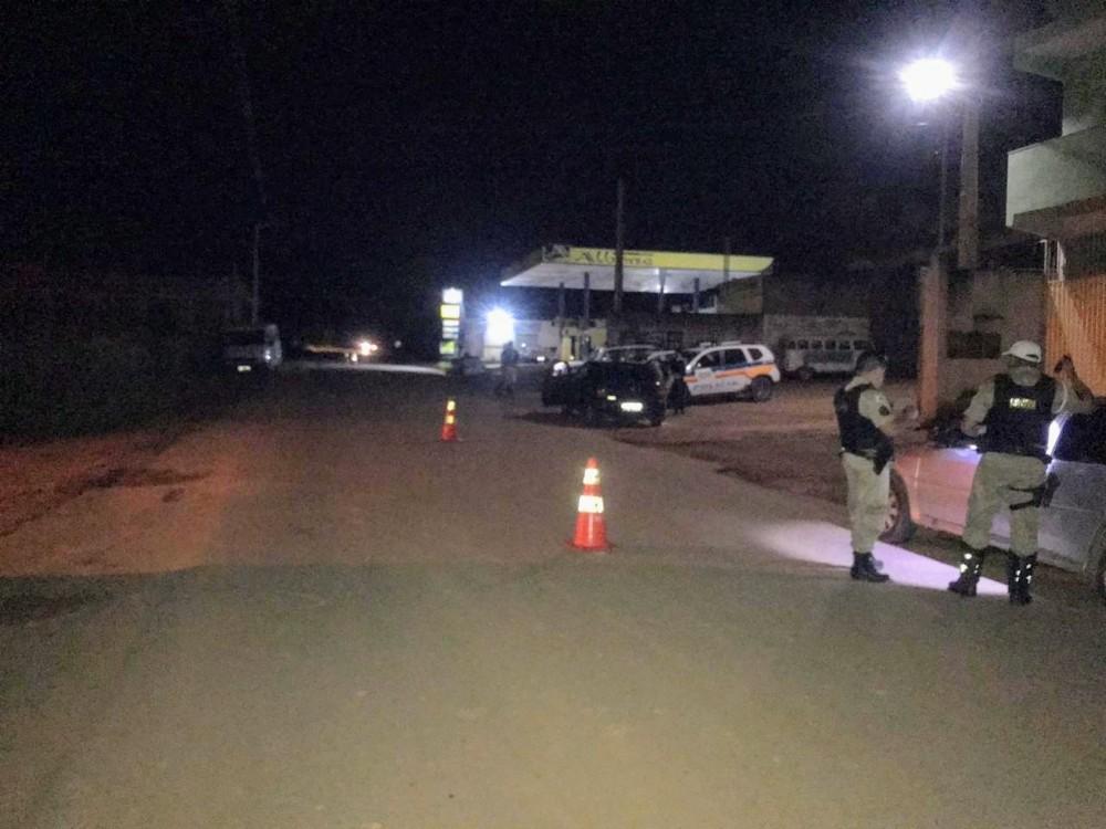 PM realiza mais uma operação em prevenção a explosões de caixas eletrônicos em Santa Margarida