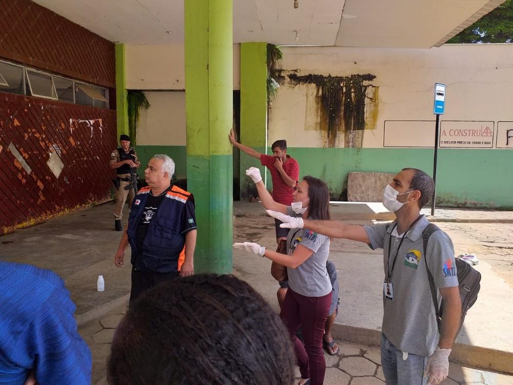 Prefeitura reforça ações com moradores em situação de rua em tempos de coronavírus