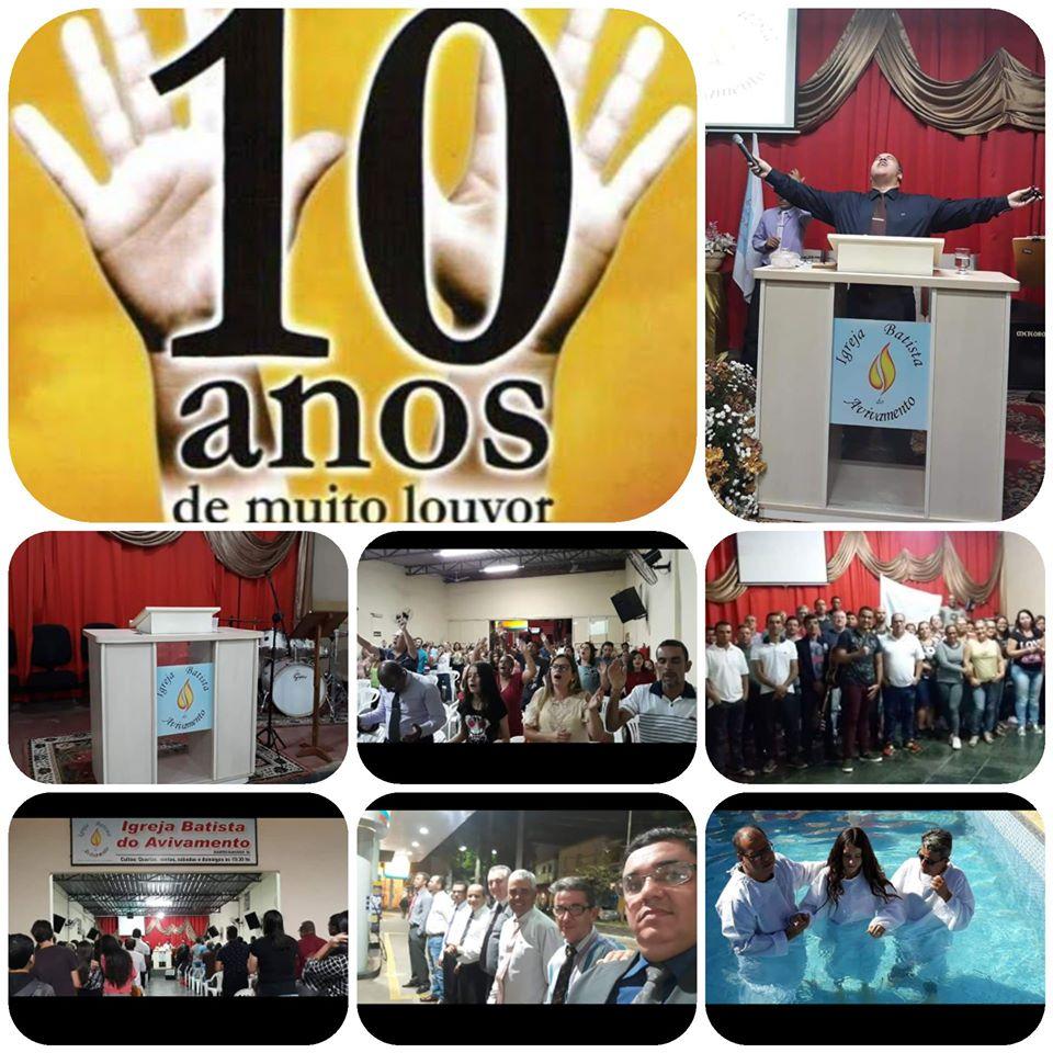 Igreja Batista do Avivamento completa 10 anos em Manhumirim