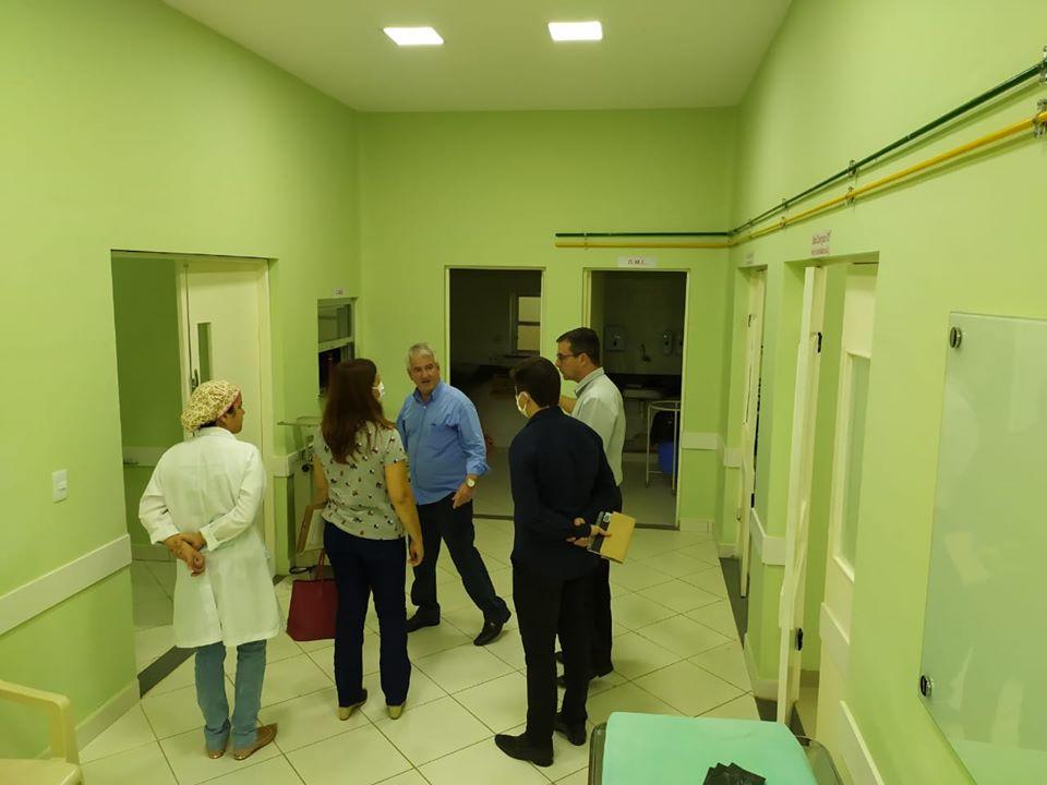 Hospital Evangélico de Carangola passa a atender exclusivamente casos de Covid-19