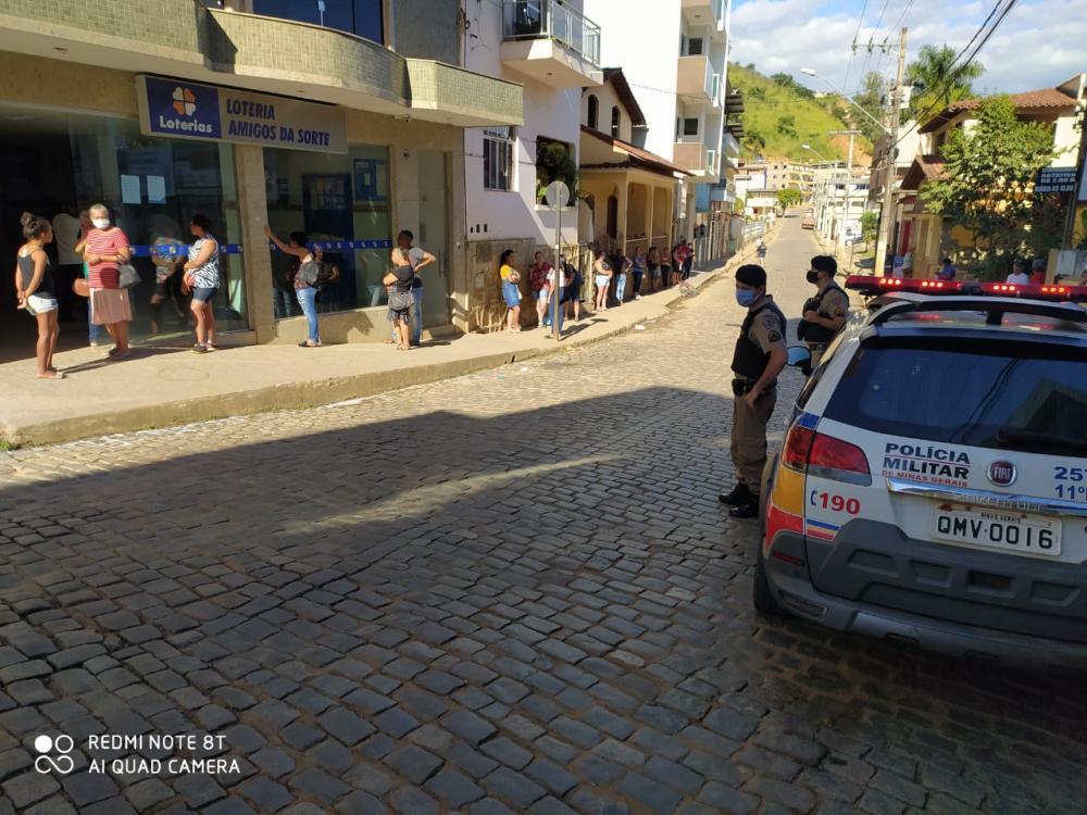 Tentativa de furto em Lotérica acaba com autor preso pela PM em Lajinha