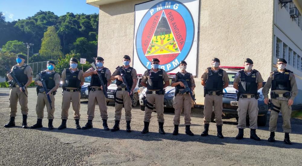 Café: Polícia Militar lança operação safra em Manhuaçu e região