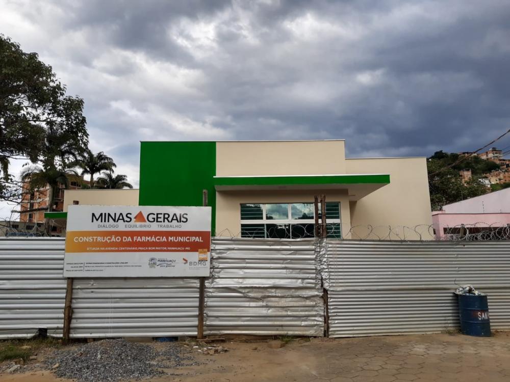 Farmácia Municipal prestes a ser entregue à população em Manhuaçu
