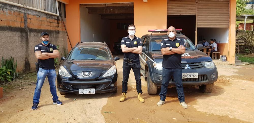 Veículo obtido mediante fraude é apreendido em Guaçuí pela Polícia Civil de Manhuaçu