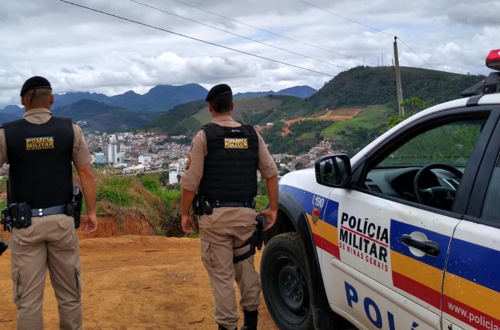 PM cumpre mandados de prisão em Manhuaçu