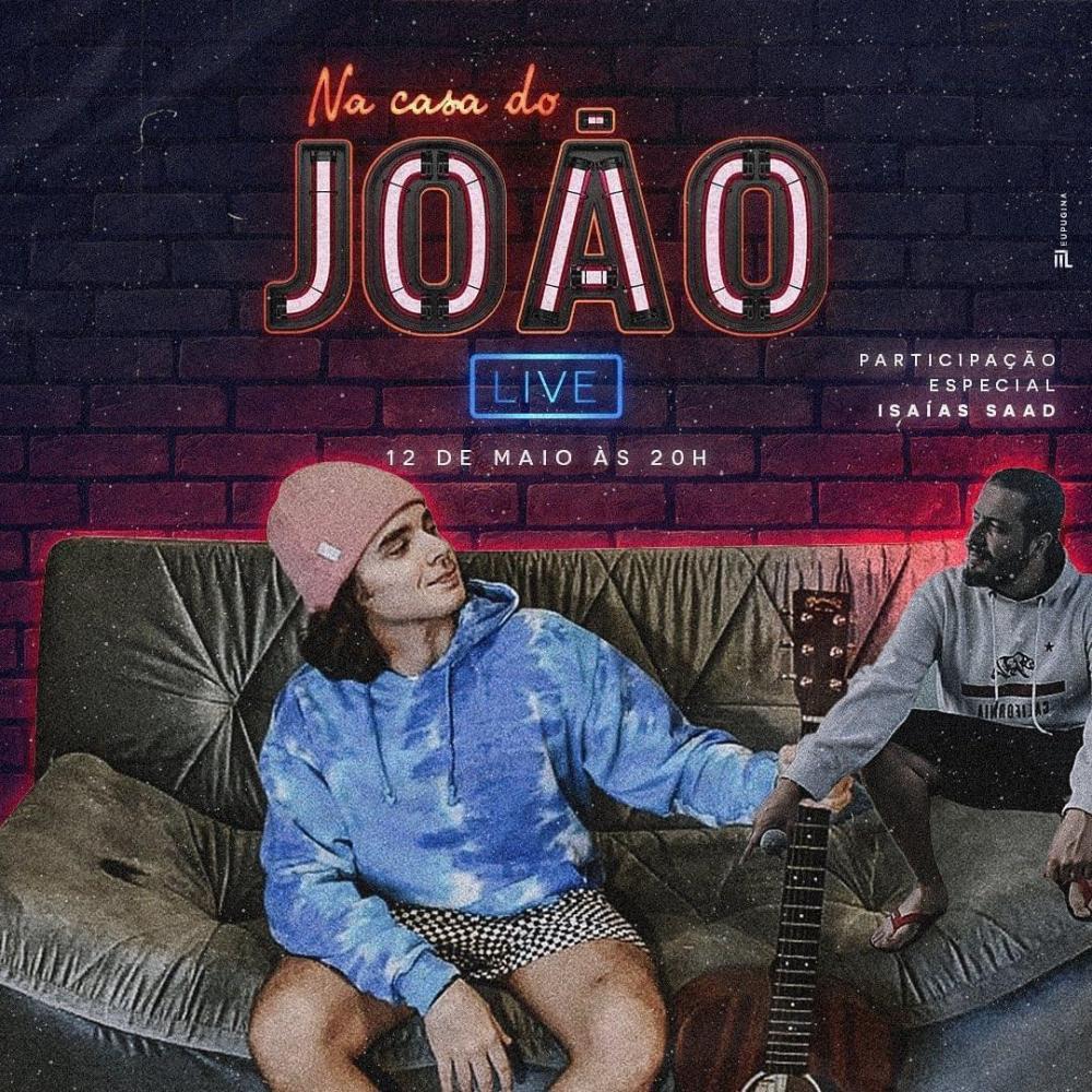 João Figueiredo realiza live com participação de Isaías Saad