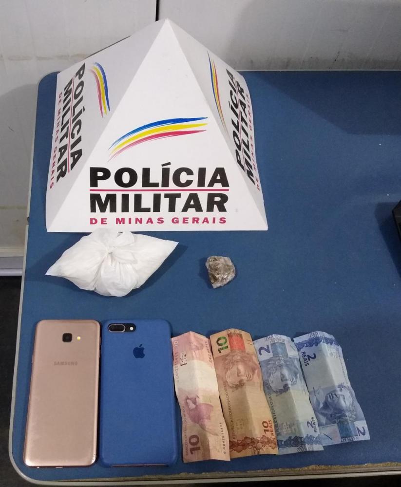 PM realiza prisão no bairro São Vicente em Manhuaçu
