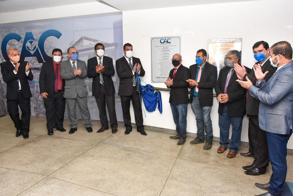 Câmara de Manhuaçu inaugura Centro de Atendimento ao Cidadão