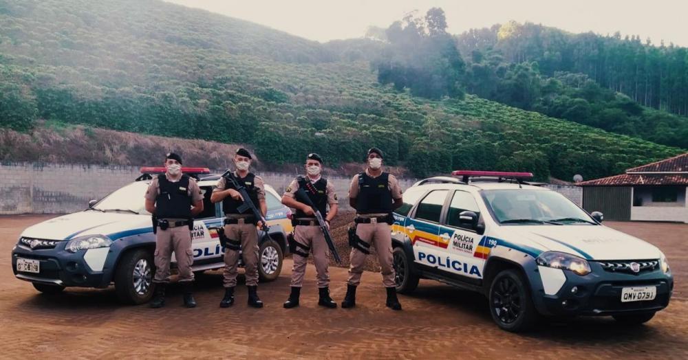 Em virtude do período de colheita de café, importante produto econômico de nossa região, a Polícia Militar está desenvolvendo a Operação Safra Segura em toda área do 11° Batalhão.