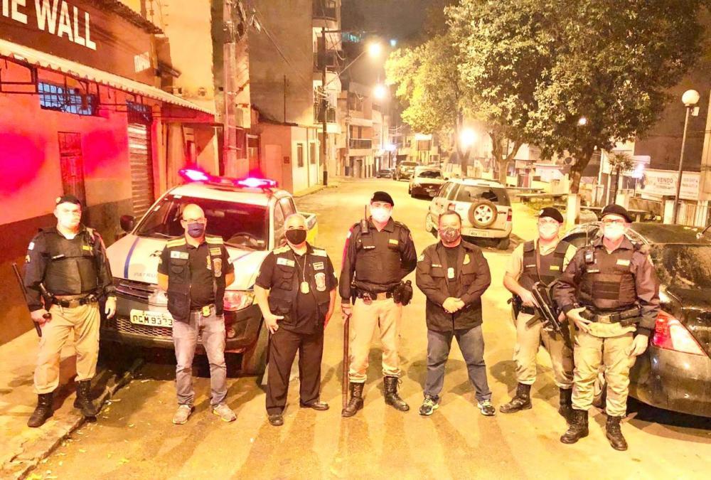 Menores; Mais uma ação de fiscalização em bares de Manhuaçu