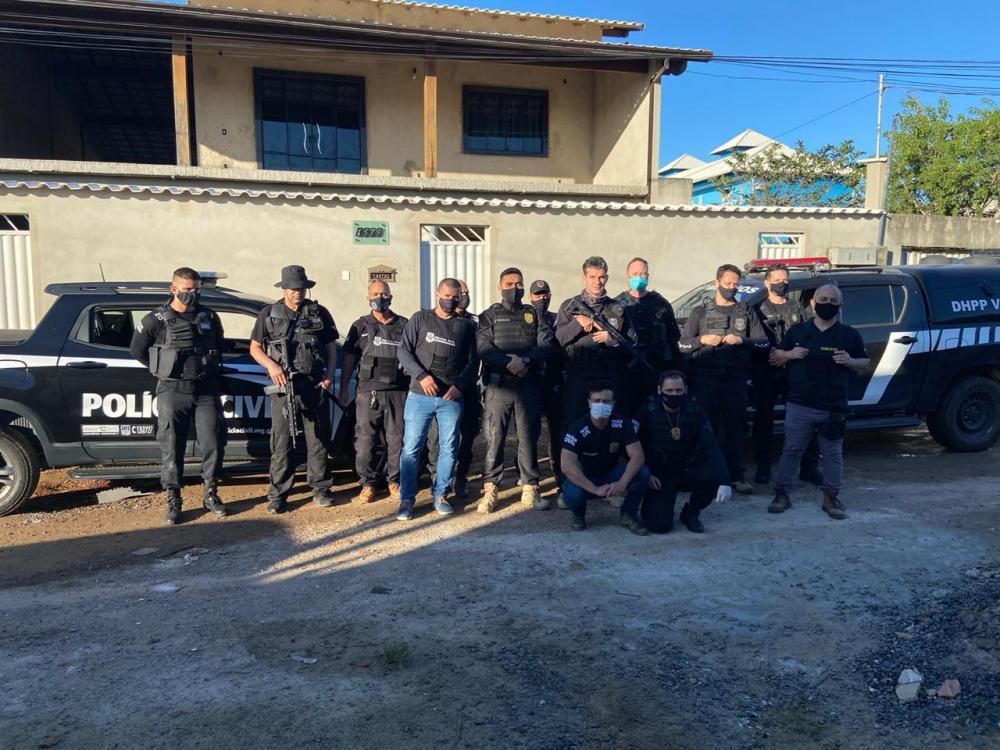 Tráfico de drogas: Suspeito é preso pela Polícia Civil de Manhumirim com apoio da PC do Espirito Santo em Vitória