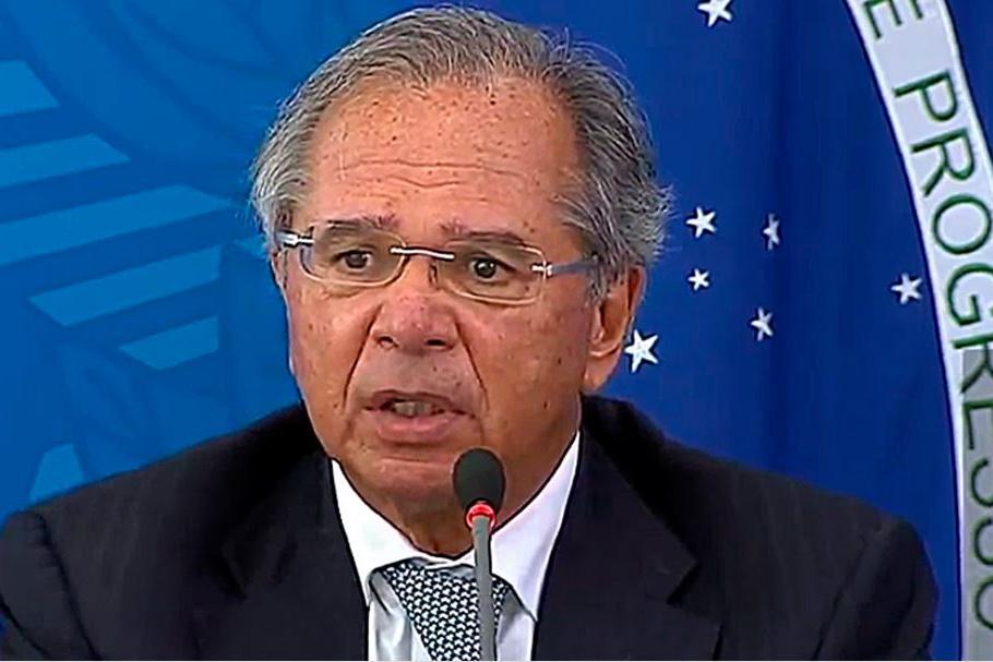 Auxílio emergencial terá mais duas parcelas de R$ 600, confirma Paulo Guedes (Foto TV Brasil)