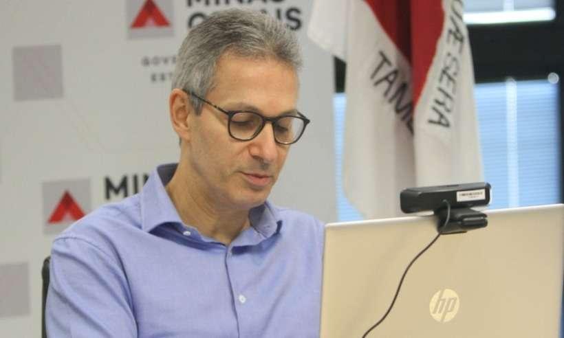 Governador Romeu Zema (Novo) durante entrevista ao Estado de Minas (foto: Edesio Ferreira/EM/D.A Press)