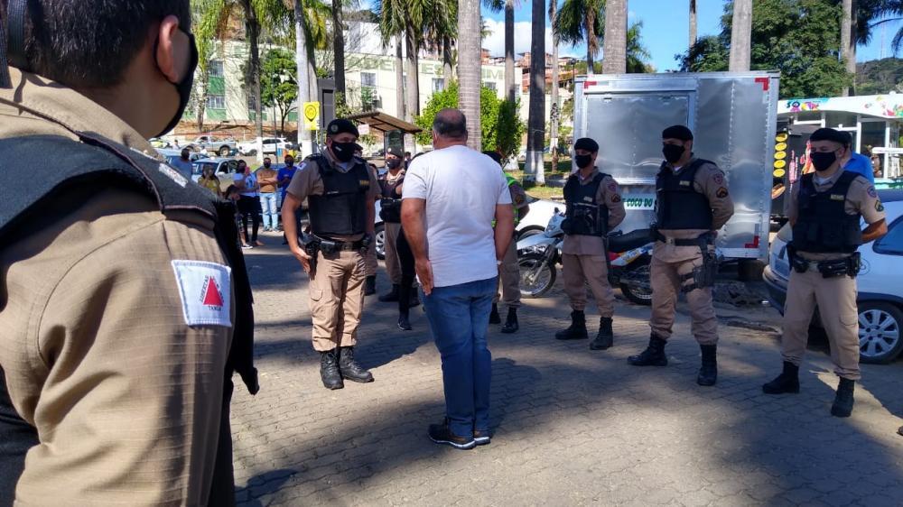 COVID-19: Sargento da Polícia Militar de Manhuaçu recebe alta no HCL