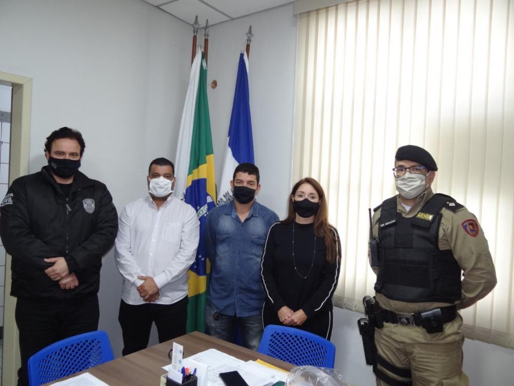 Tenente-coronel Emerson assume Departamento Municipal de Trânsito de Manhuaçu