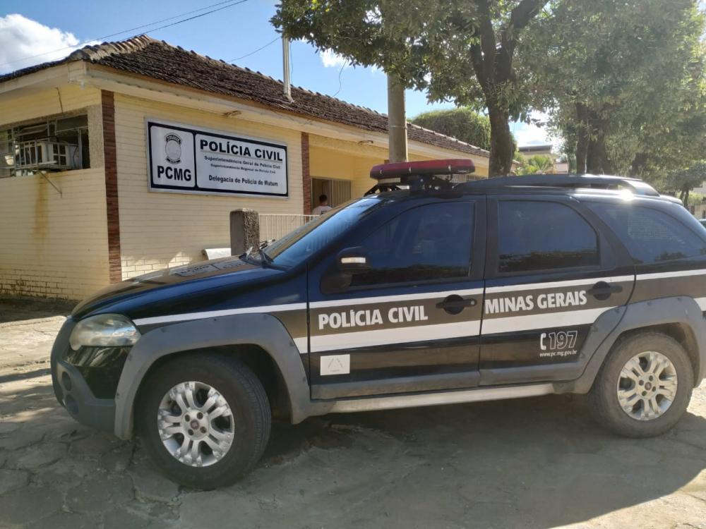Polícia Civil de Mutum prende suspeito de ser mandante de duplo homicídio