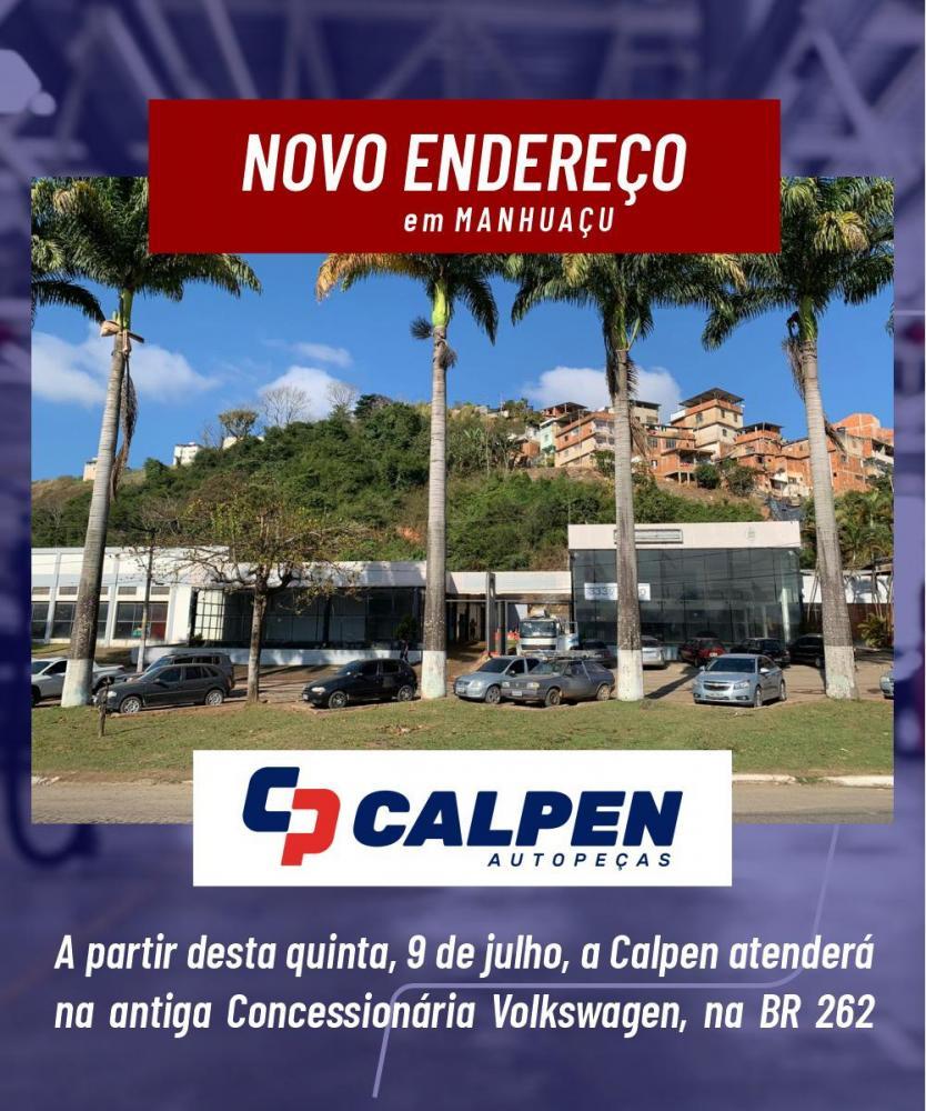 Calpen divulga novo endereço em Manhuaçu