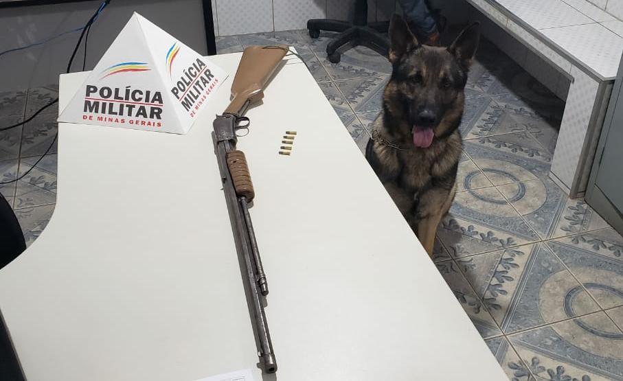 PM retira mais uma arma de fogo de circulação em Santa Margarida