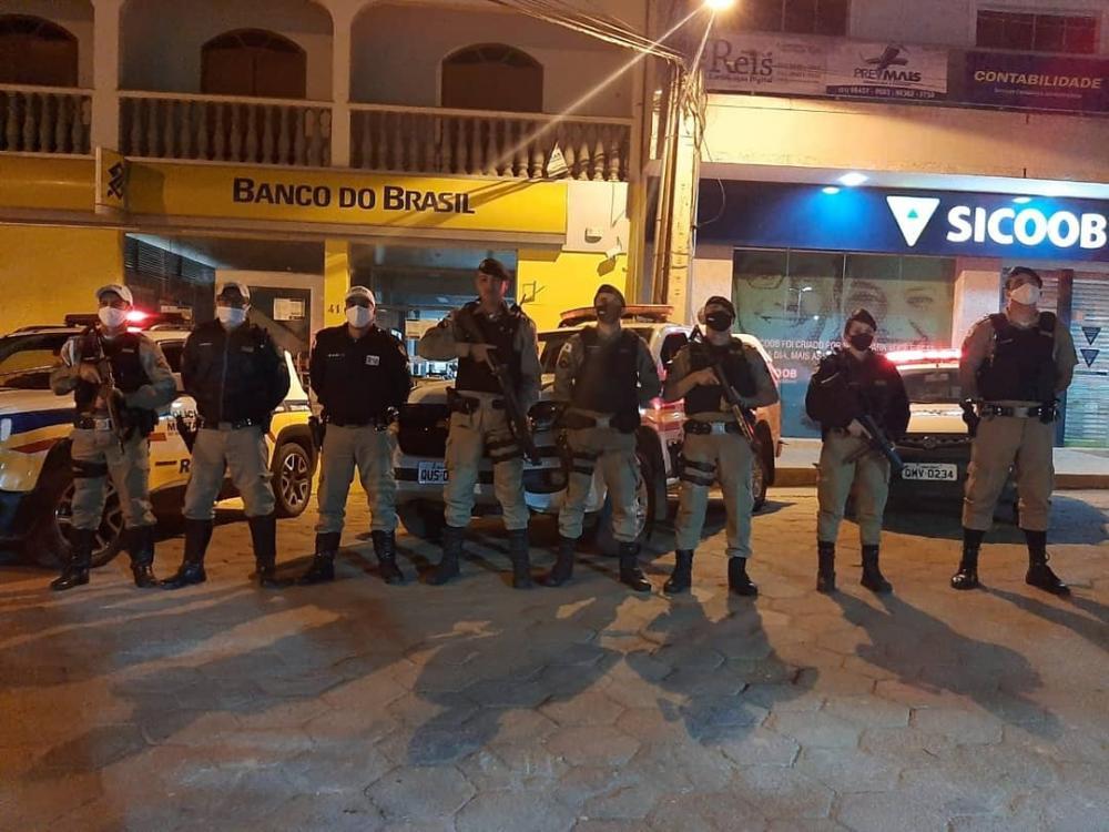 PM realizada mais uma operação de prevenção a explosões de caixas eletrônicos em Santa Margarida