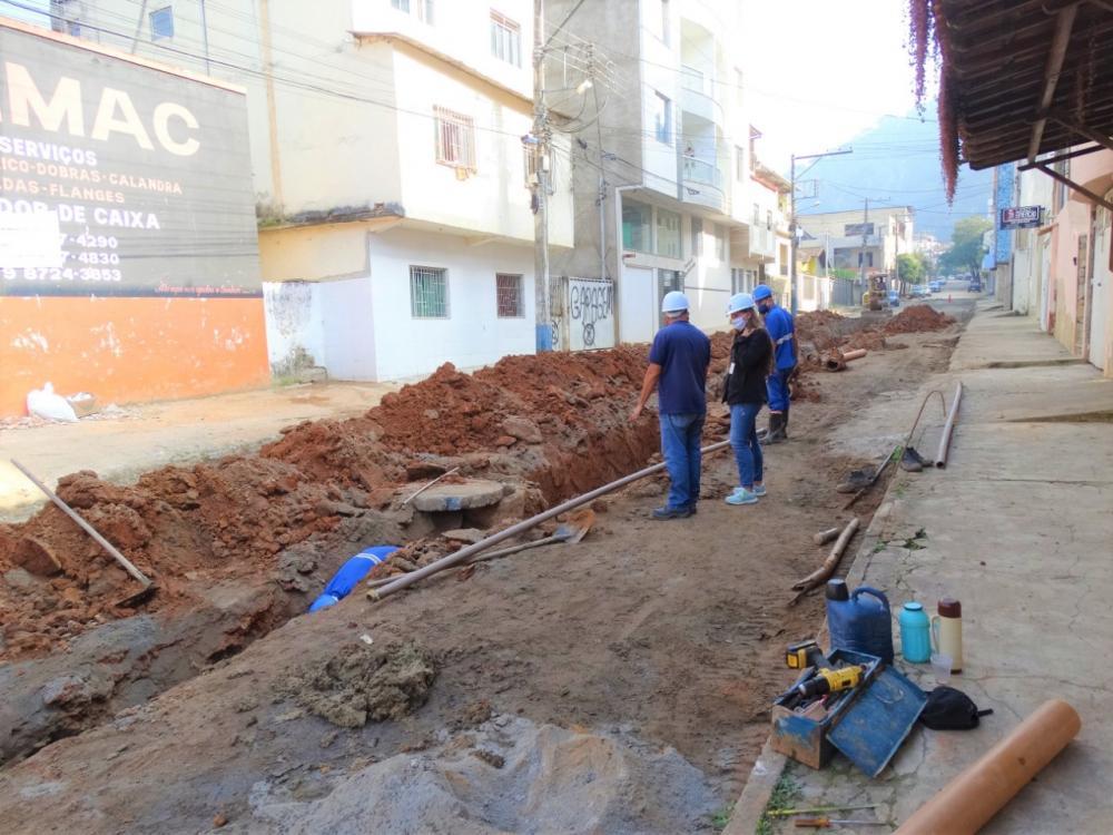 SAAE inicia segunda fase das obras no bairro Bom Pastor em Manhuaçu