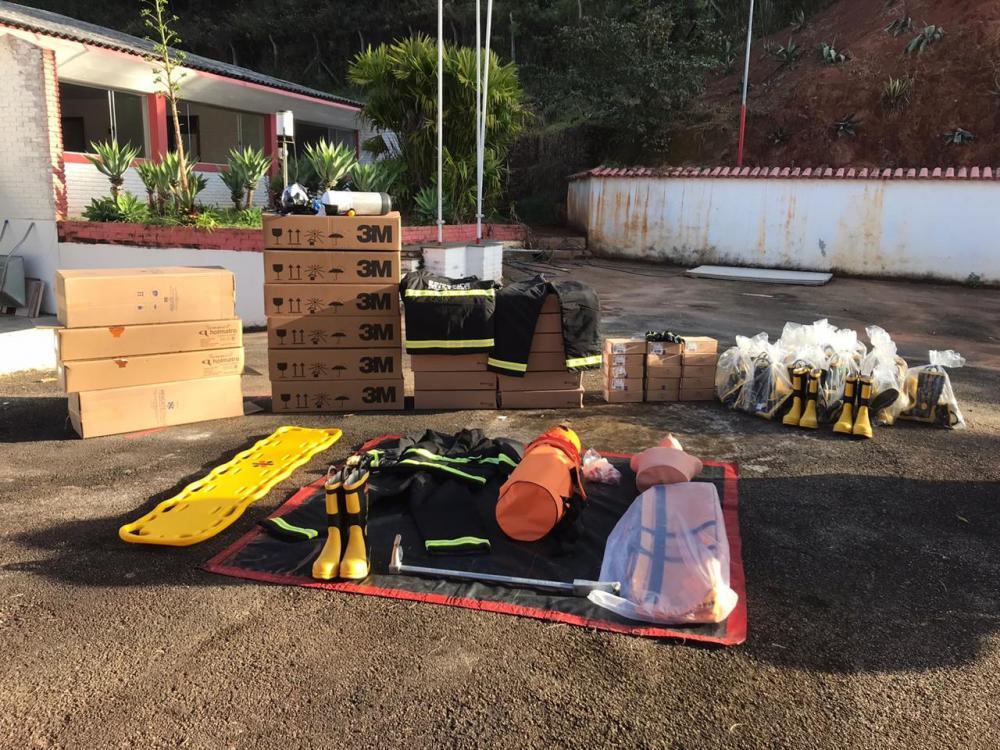 Corpo de Bombeiros de Manhuaçu recebe R$200 mil através do MPT