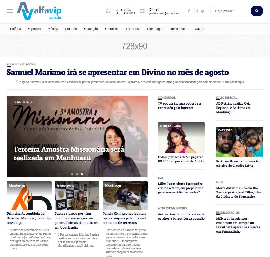 A equipe do Portal Alfavip, garante que sempre irá inovar os serviços oferecidos pelo site, melhorias e novas tecnologias para os internautas.  (Foto/Divulgação)