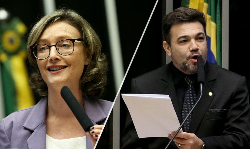 Maria do Rosário e Marco Feliciano. (Foto: Marcelo Camargo/Wilson Dias/Agência Brasil)
