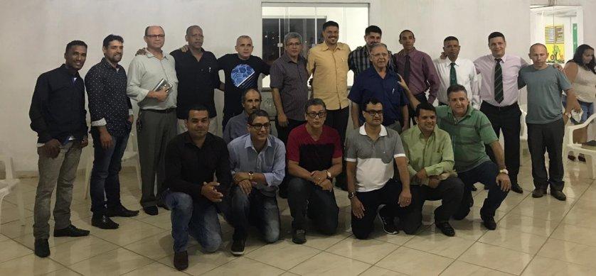 Os pastores presentes firmaram compromisso de manter a unidade e trabalhar para que o Evangelho possa ser propagado na cidade