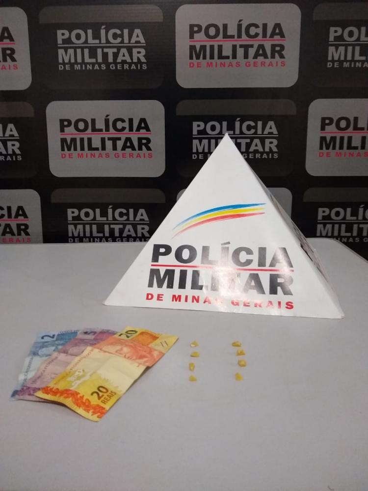 Ocorrência de tráfico de drogas em Manhumirim