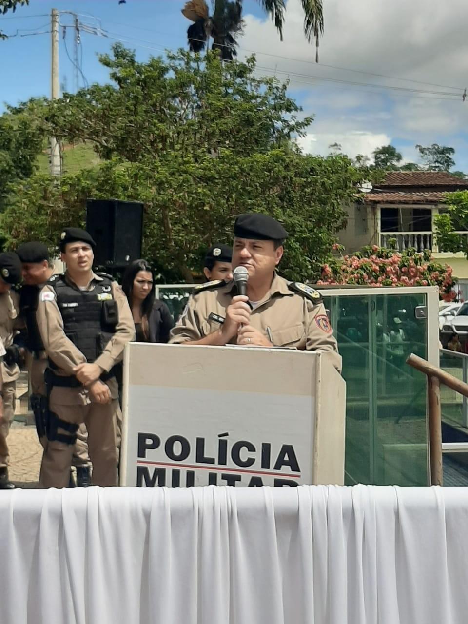 Comandante Geral da PM realiza entrega de viatura para São José do Mantimento