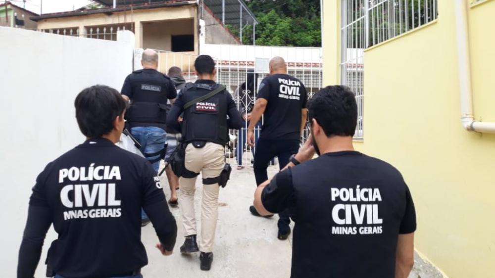 PC de Minas desarticula operação irmandade na Zona da Mata Mineira