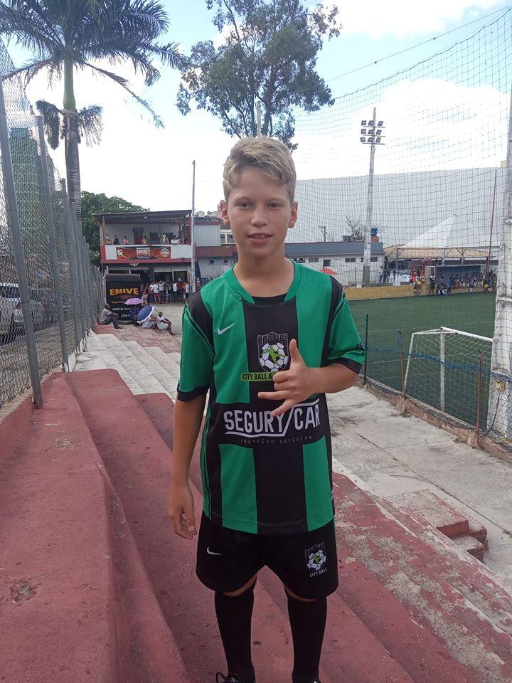 Miguel de Alto Caparaó para o Clube Atlético Mineiro