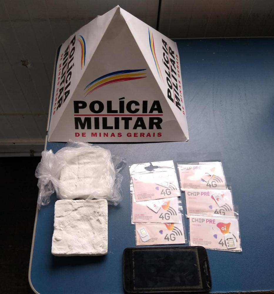 Homem é preso com drogas na rodoviária de Manhuaçu