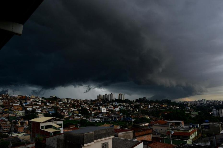 Chuvas superiores a 100 mm em municípios da região central, Leste e Norte de Minas nos próximos dias