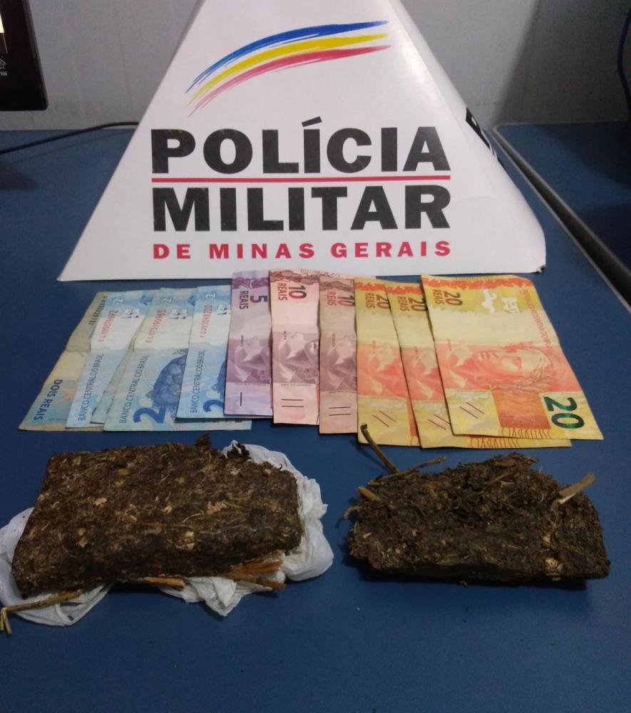 Menores tentam fugir, mas são apreendidos com drogas em Manhuaçu