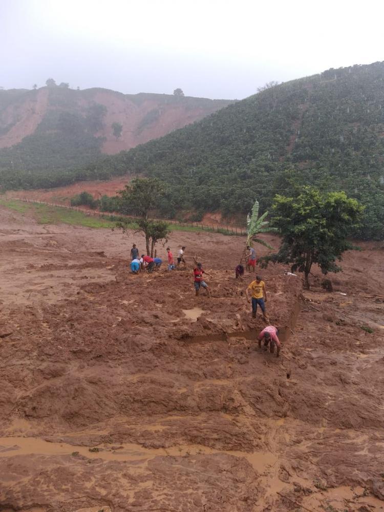 Três vítimas fatais e localidades de difícil acesso em Alto Caparaó
