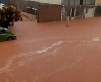 Chuva forte em Ipanema-MG 06/02/2020