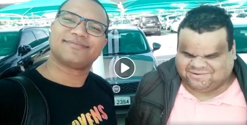 Cleyton Queiroz e Pastor Josué Monteiro